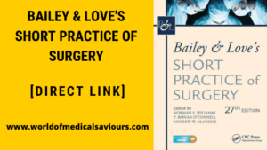 Bailey & love's short practice of surgery pdf
