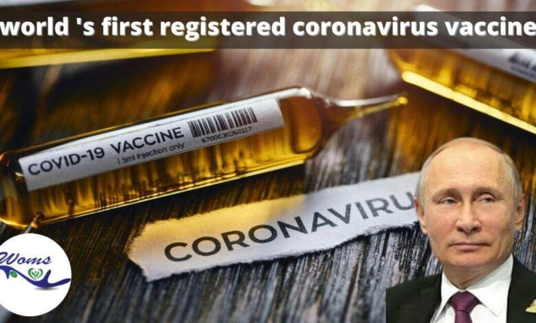 world's first coronavirus vaccine registered by Russia