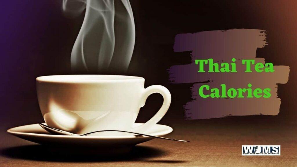thai tea calories